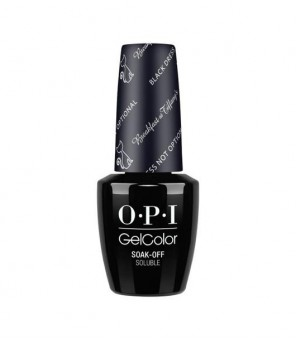 Black Dress is not Optional | OPI | GELCOLOR