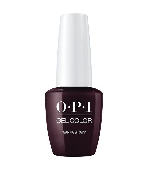 Wanna Wrap?  | OPI | GELCOLOR |Semi Permanent