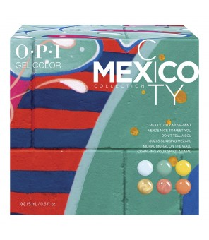 OPI Gelcolor Mexico City 6 Pcs Add On Kit1 GC284