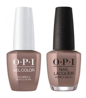Icelanded a Bottle of OPI Pack | OPI | GelColor |Vernis Semi Permanent |15ml