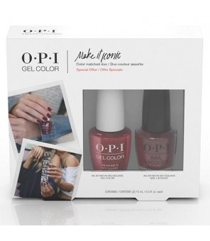 DUO An Affair in Red Square | OPI | GELCOLOR | SEMI PERMANENT