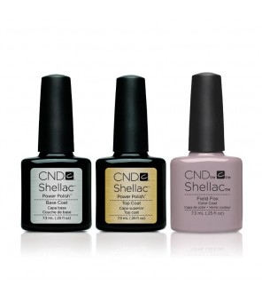 CND - Shellac Combo - Base, Top & Field Fox | CND SHELLAC