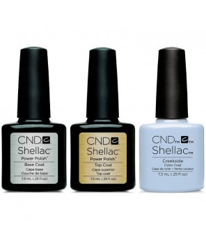 CND - Shellac Combo - Base, Top & Creekside | CND SHELLAC