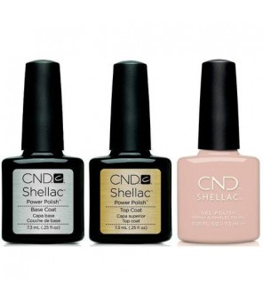 CND - Shellac Combo - Base, Top & Gala Girl | CND |Autumn Addict