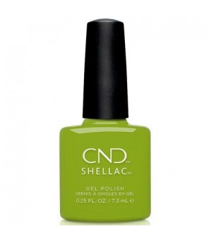 Shellac Crisp Green 7.3ml | CND |Autumn Addict