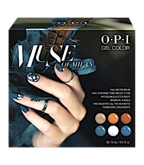Add on kit1 6 pieces 15ml | OPI | GelColor | Muse of Milan|