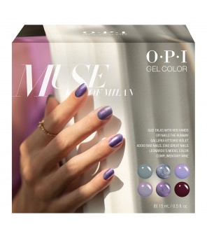 Add on kit2 6 pieces 15ml | OPI | GelColor | Muse of Milan|