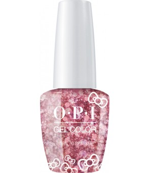 Born To Sparkle  | HELLO KITTY | GelColor | Opi