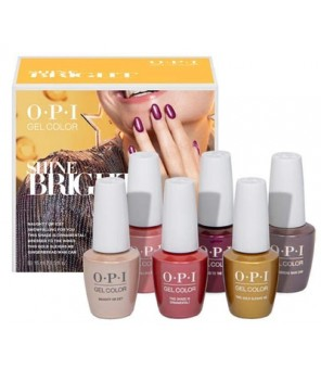 Add on kit1 6 pieces 15ml | OPI | GelColor| Bright Shine|