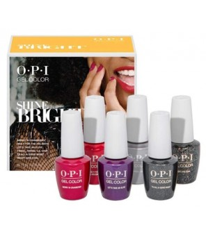 Add on kit2 6 pieces 15ml | OPI | GelColor| Bright Shine|