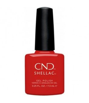 Shellac Devil Red 7.3ml | CND |Cocktail Couture