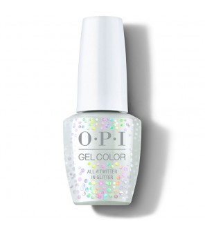 All A'twitter in Glitter 15ml | OPI | GelColor| Shine Bright | HPM13