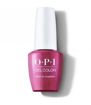 Merry in Cranberry 15ml | OPI | GelColor| Shine Bright | HPM07