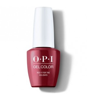 Red-y For the Holidays15ml | OPI | GelColor| Shine Bright | HPM08