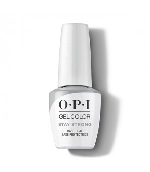 OPI Stay Strong Base Coat Protectrice GelColor 15ml| Semi permanent