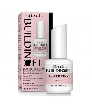 ibd Brush-On Building Gel Construction Rose Opaque 14ml