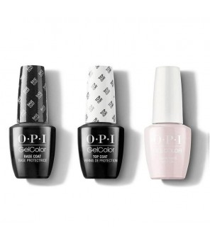 OPI TRIO BASE + TOP +  Lisbon Wants Moor 7.3ml | OPI | GELCOLOR |Semi Permanent