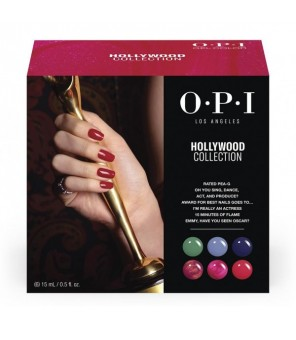 Add on kit 2 6 pieces 15ml | OPI | GelColor| Hollywood |