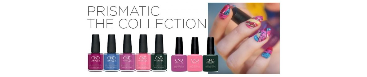 Collection CND SHELLAC Prismatic Été 2019