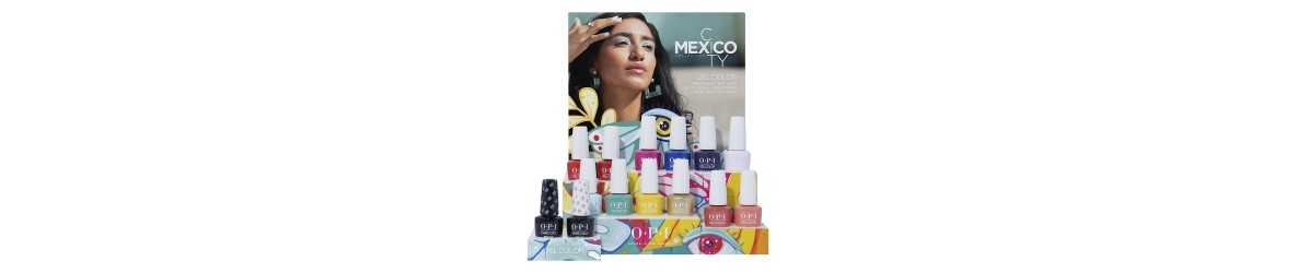 Collection OPI Printemps MEXICO CITY 2020