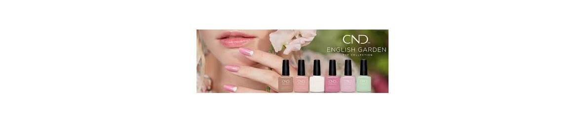 CND Shellac English Garden Printemps 2020