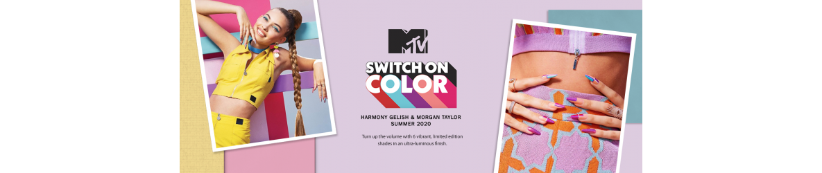 Gelish MTV Switch On Color ETE 2020