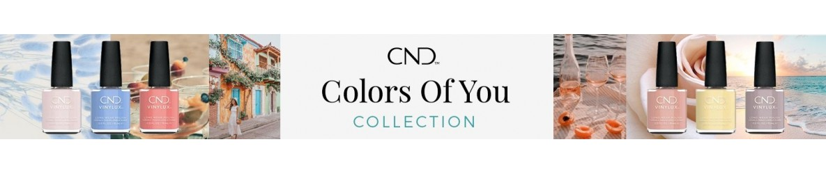 CND Shellac The Colors of You 2021 Collection