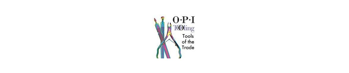 Outils OPI: pinces, coupe ongles, cuticles