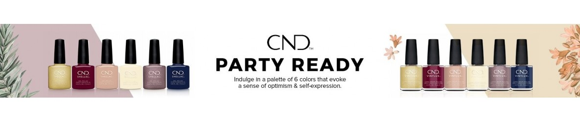 CND SHELLAC  Party Ready Hiver 2021 VERNIS SEMI PERMANENT