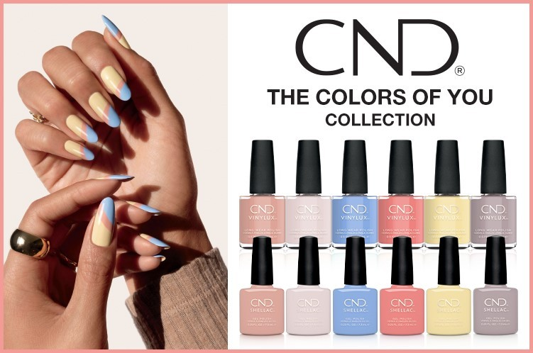 CND The Colors Of You Collection Shellac Semi Permanent