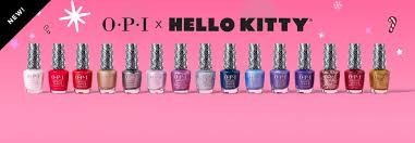 Collection OPI Hello Kitty Hiver 2019 vernis a ongles, gel , semi permanent , Gelcolor